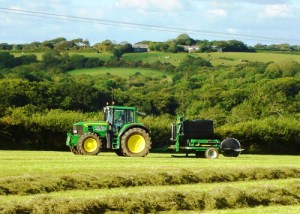 Haymaking at Headon Farm