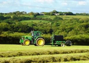 Haymaking at Headon Farm