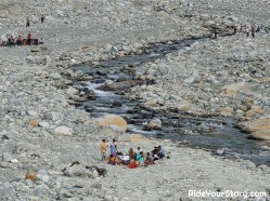 During the dry season, the river will be an ideal family picnic spot