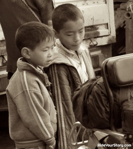 Inspiring the Adi children to travel and see the world beyond their territory.