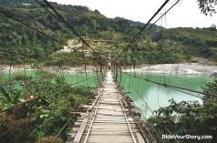 Gandhi Footbridge, River