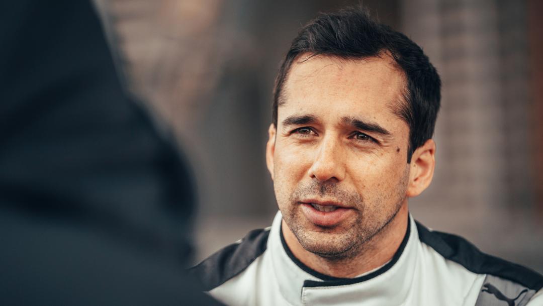Neel Jani, Formel E Rollout, Weissach, 2019, Porsche AG