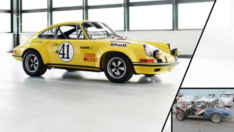 Restoration of a 911 2.5 S/T