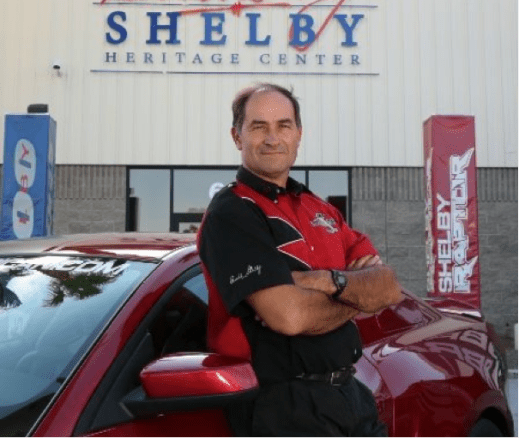 Picture of Gary Patterson, Vice President, general and vital sales during Shelby American