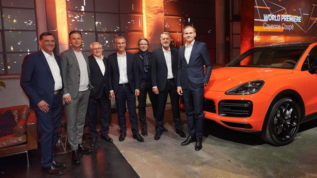 World premiere of a new Porsche Cayenne Coupé, Stuttgart, 2019, Porsche AG