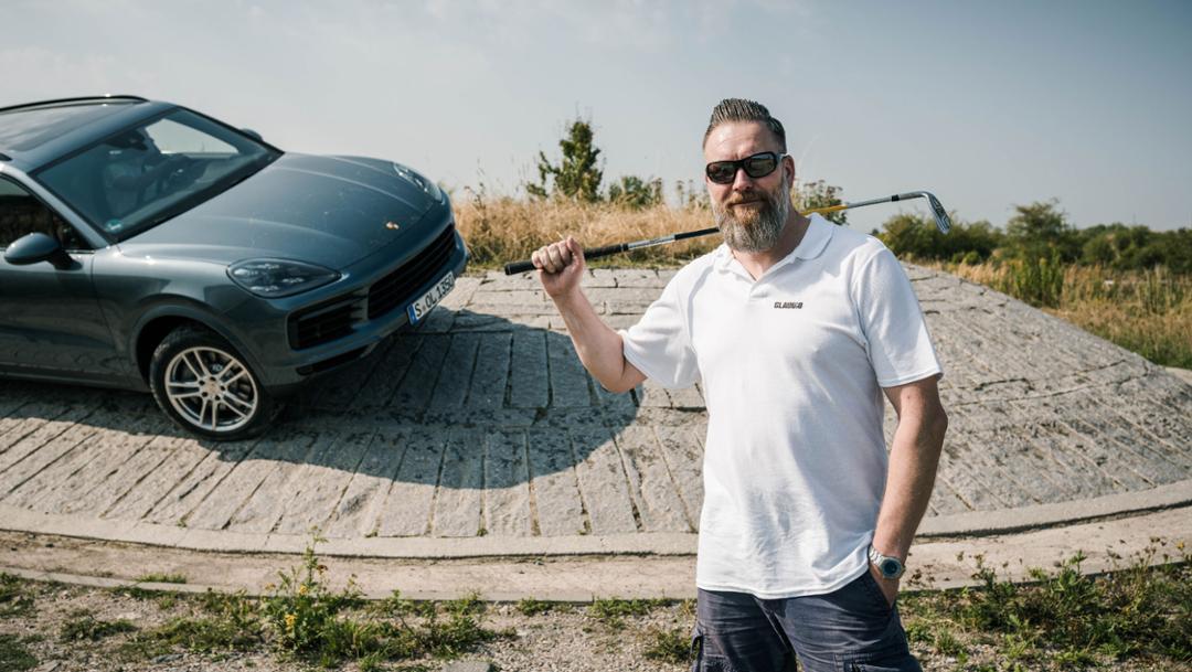 Claudio Orlik, Cayenne S, #PorscheCrossdrive, Leipzig, 2018, Porsche AG