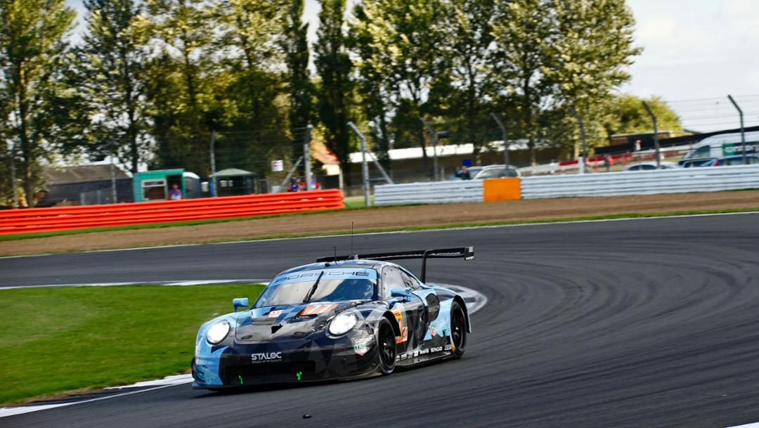 911 RSR, Dempsey Proton Racing, race, Silverstone, FIA WEC, 2018, Porsche AG