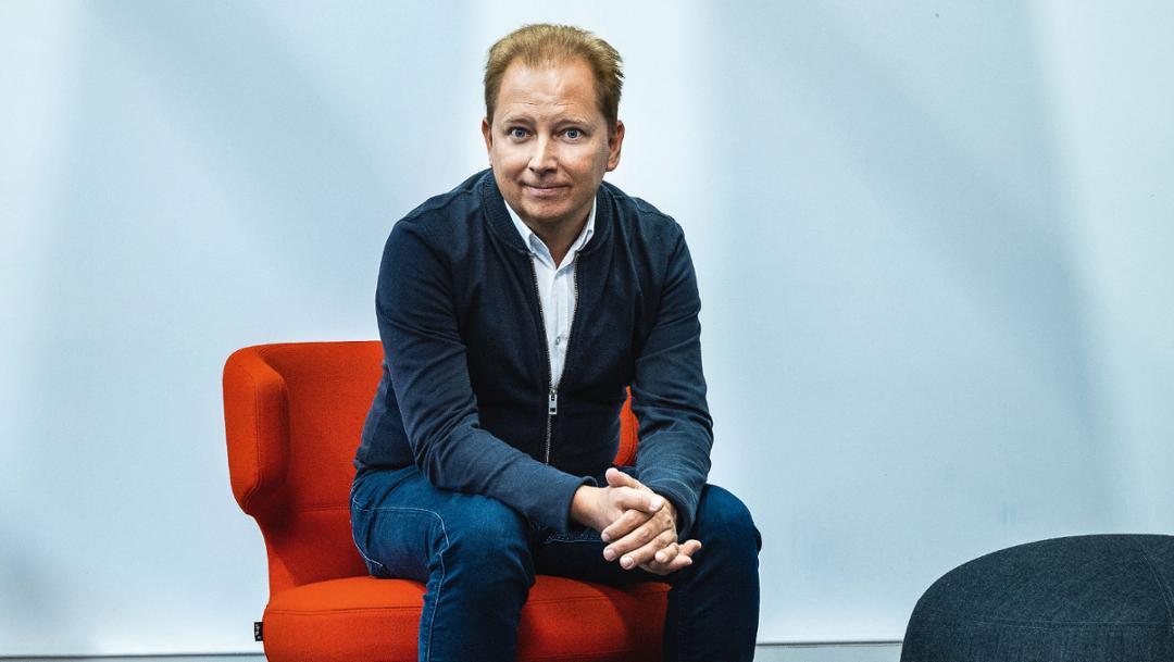 Thilo Koslowski, CEO of Porsche Digital GmbH, 2018, Porsche AG