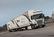 By pushing dual full-length trailers, Scania reduces fuel expenditure by adult to 30 percent with an homogeneous rebate in damaging CO dioxide