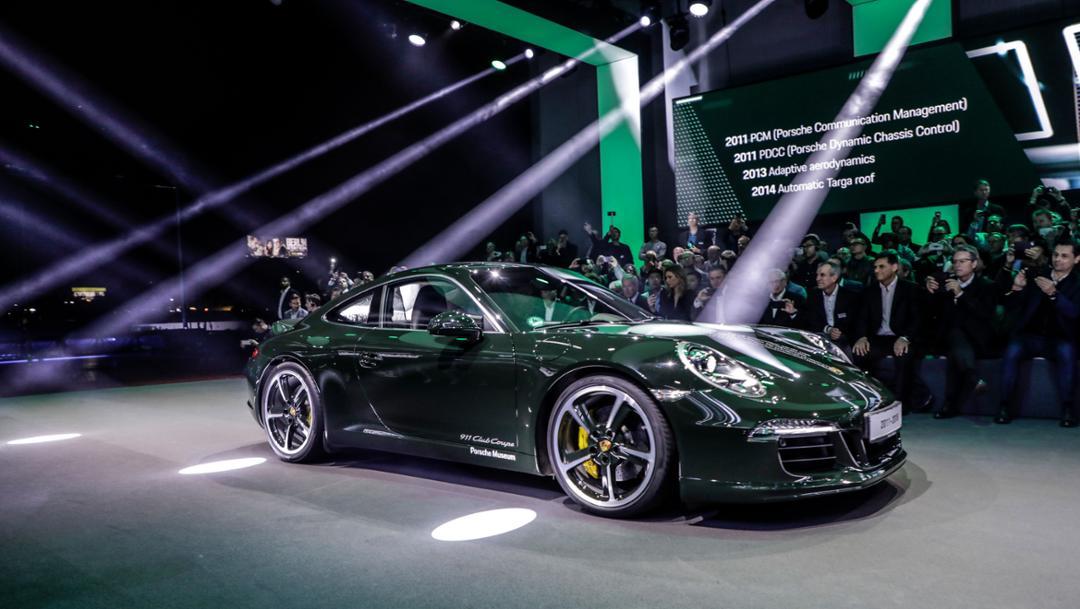 911 (991), universe premiere Porsche 911, Los Angeles, 2018, Porsche AG