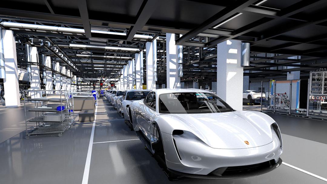 Insights into Porsche prolongation 4.0, 2018, Porsche AG