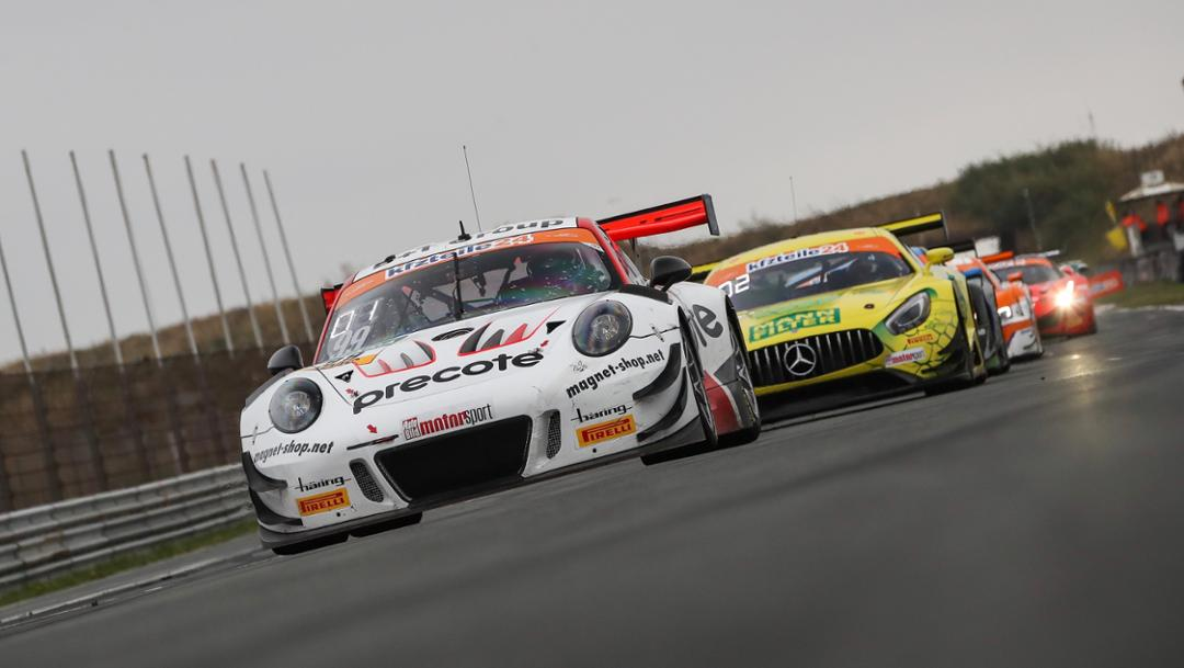 911 GT3 R, Precote Herberth Motorsport, ADAC GT Masters, competition 10, Zandvoort, 2018, Porsche AG