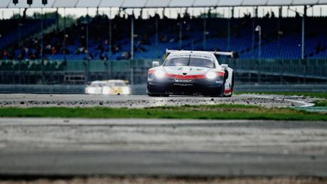 WEC: Podium for Porsche during Silverstone