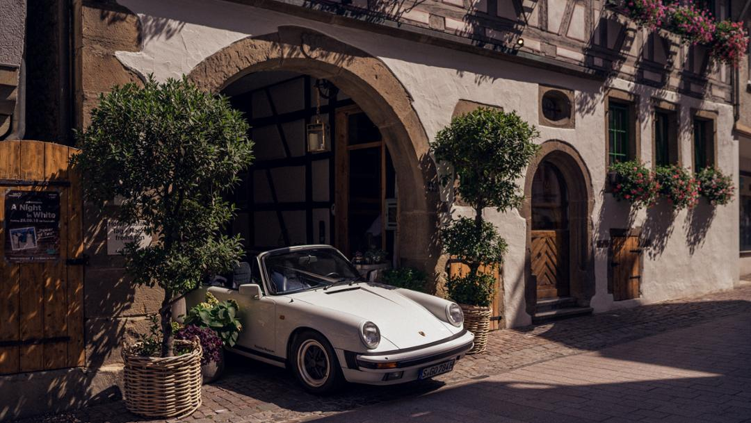 911 Carrera 3.2 Cabriolet (1984), Besigheim, 2018, Porsche AG