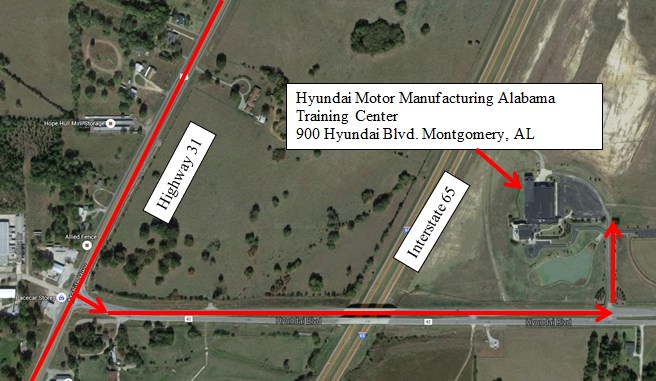 HYUNDAI'S BEFORE SERVICE EXPERIENCE TOUR TO STOP AT ITS ALABAMA ASSEMBLY PLANT