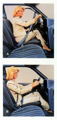 1988 Escort Automatic Seatbelt
