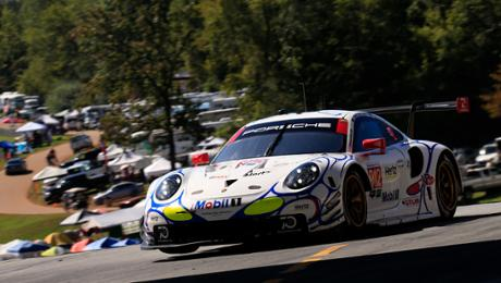 Porsche takes adult Petit Le Mans from second grid row