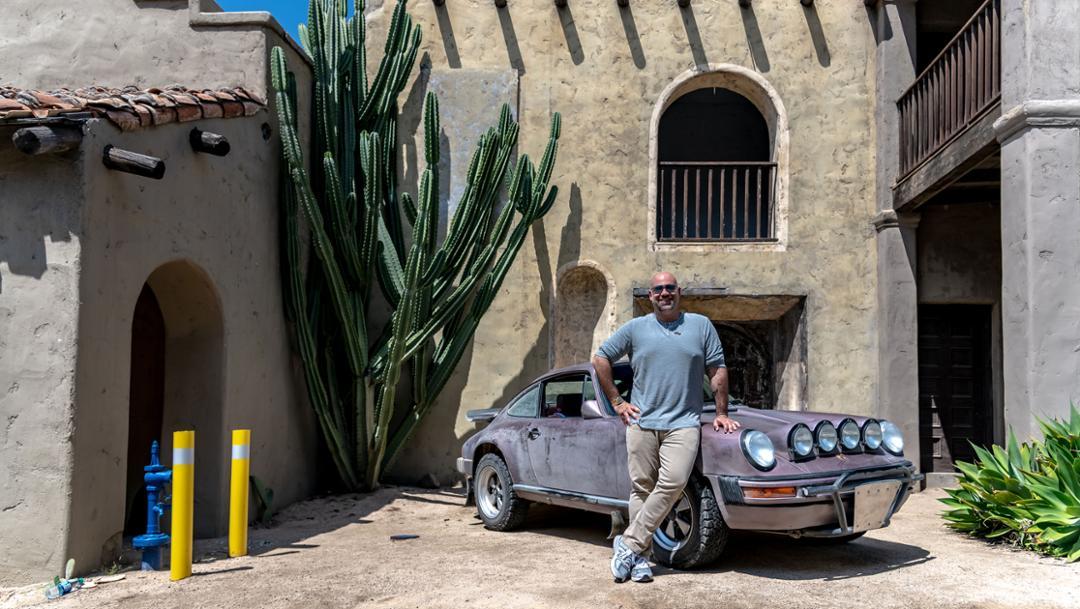 Matt Farah, Luftgekühlt 6, Universal Studios backlot, Los Angeles, 2019, Porsche AG