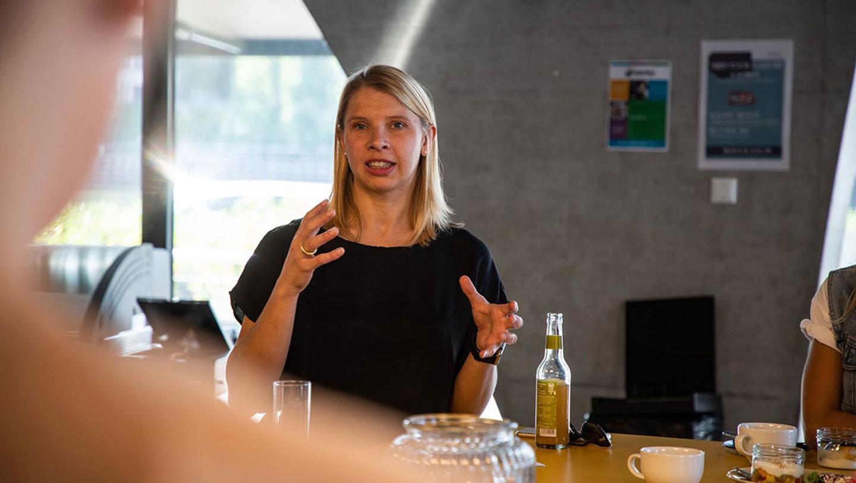 Anja Hendel, Director Porsche Digital Lab, Berlin, 2018, Porsche AG