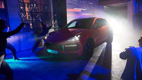 Porsche presents a Cayenne Coupé