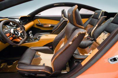 2006 Ford Mustang Giugiaro judgment interior neg CN336850-162