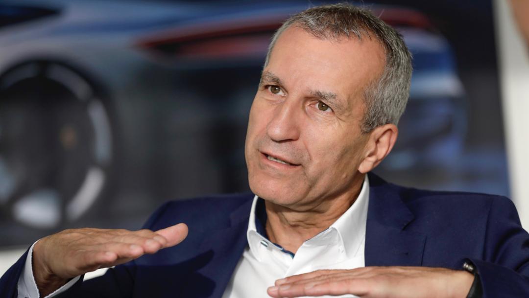 Albrecht Reimold, Executive Board member for Production, 2019, Porsche AG