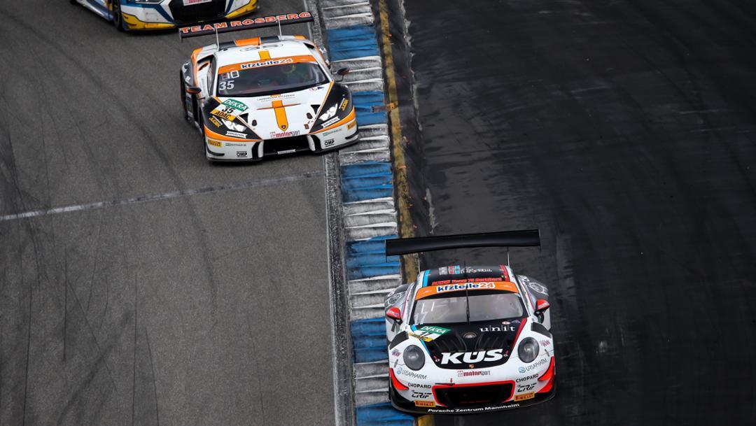 911 GT3 R, ADAC GT Masters, competition 14, Hockenheim, 2018, Porsche AG