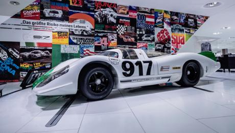 """50 Years of a Porsche 917 – Colours of Speed"""