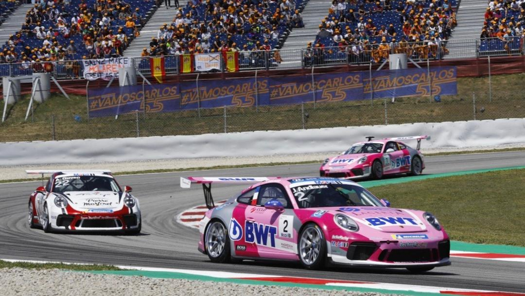 Julien Andlauer (F), Porsche Mobil 1 Supercup, Barcelona, 2019, Porsche AG
