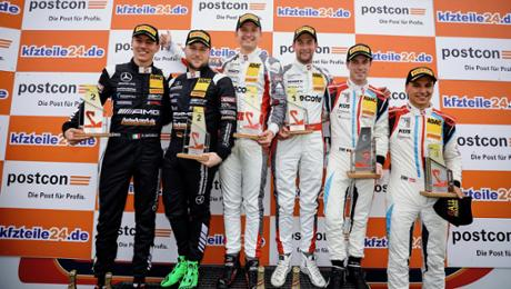 ADAC GT Masters: Victory and third place for 911 GT3 R