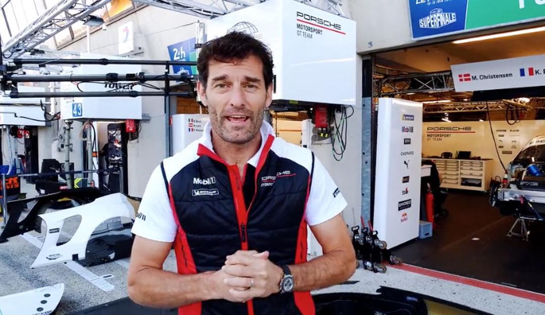 Mark Webber, FIA WEC, Le Mans, 2019, Porsche AG