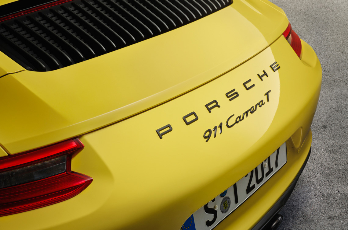 The new 2018 Porsche 911 Carrera T