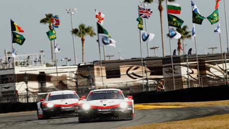 Both 911 RSR close out second grid row