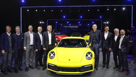 The new Porsche 911: some-more powerful, faster, digital