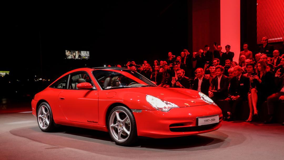 911 (996), universe premiere Porsche 911, Los Angeles, 2018, Porsche AG