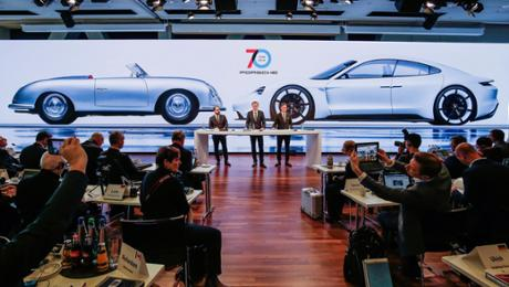 Porsche paves a approach for a future
