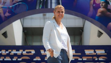 "Anke Huber: ""Angie is a fighter"""