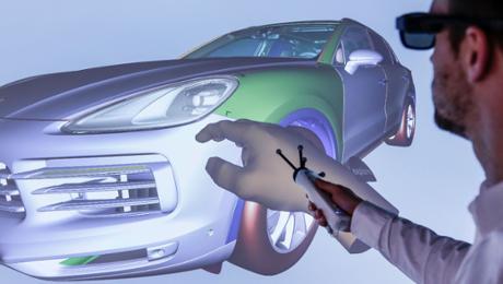 Virtual existence during Porsche: Alice in VR land