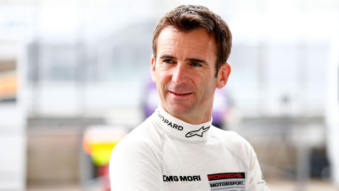 Romain Dumas, Porsche works driver, 2018, Porsche AG
