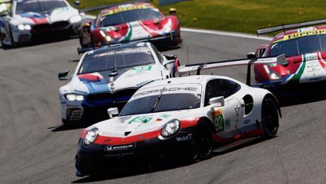FIA WEC: Porsche GT Team with a podium