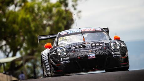 Good starting position for Porsche during a Bathurst 12 Hour