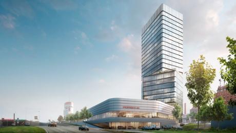 Porsche Design Tower and new Porsche Centre