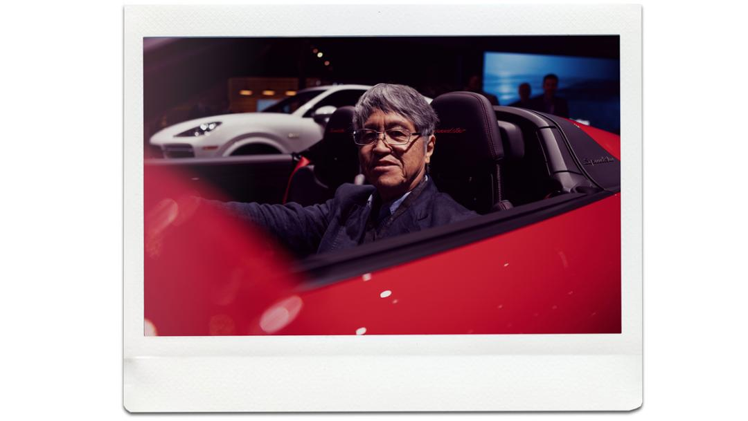 Yoshihiro Kimura, Freelancer, 911 Speedster, universe premiere, New York International Auto Show, 2019, Porsche AG
