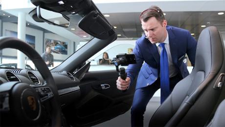 Porsche pilots a new digital placement format