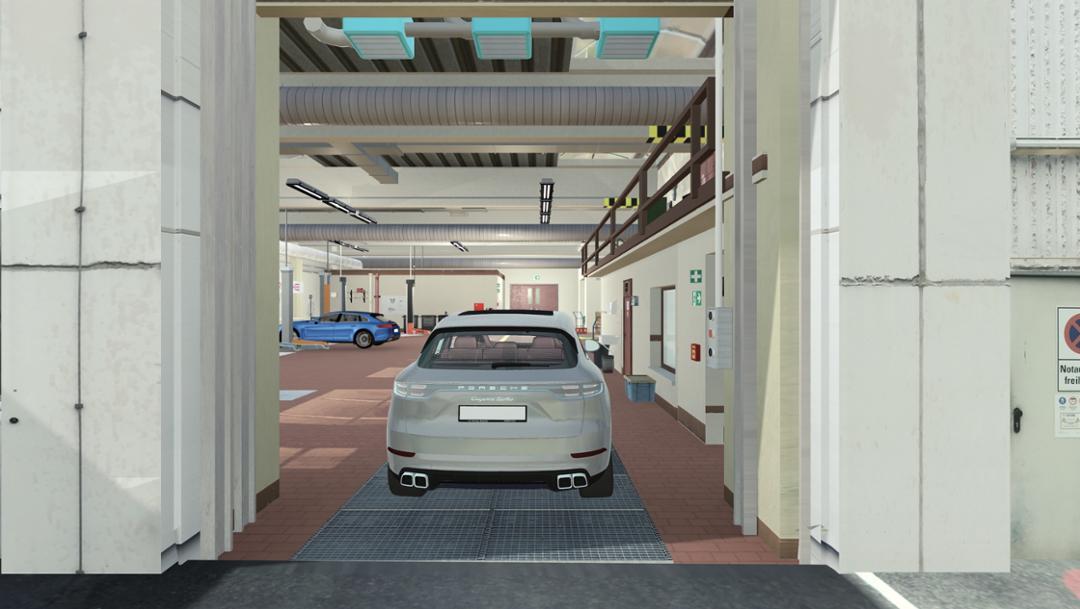 Virtual premises, 2019, Porsche AG