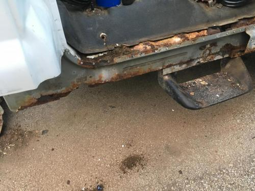Passenger side Rocker and Rear Quarter Removal