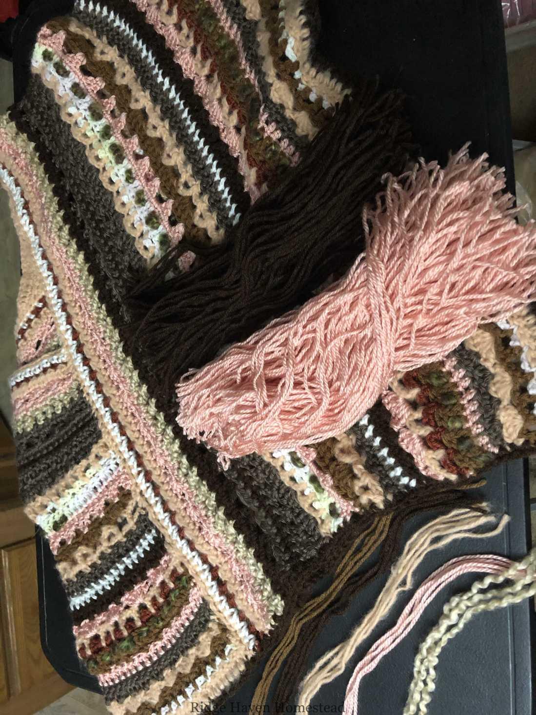 Molly poncho crochet