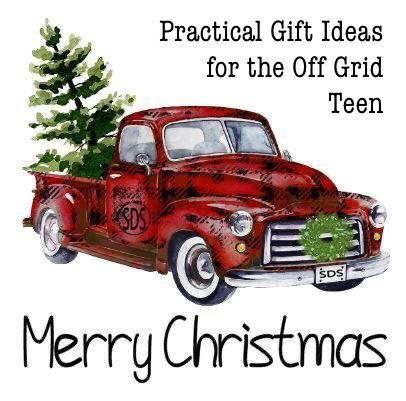 Gifts off grid teen