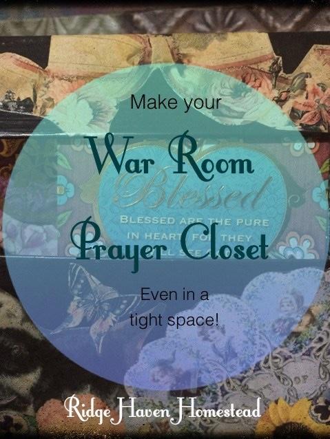 War room prayer closet image