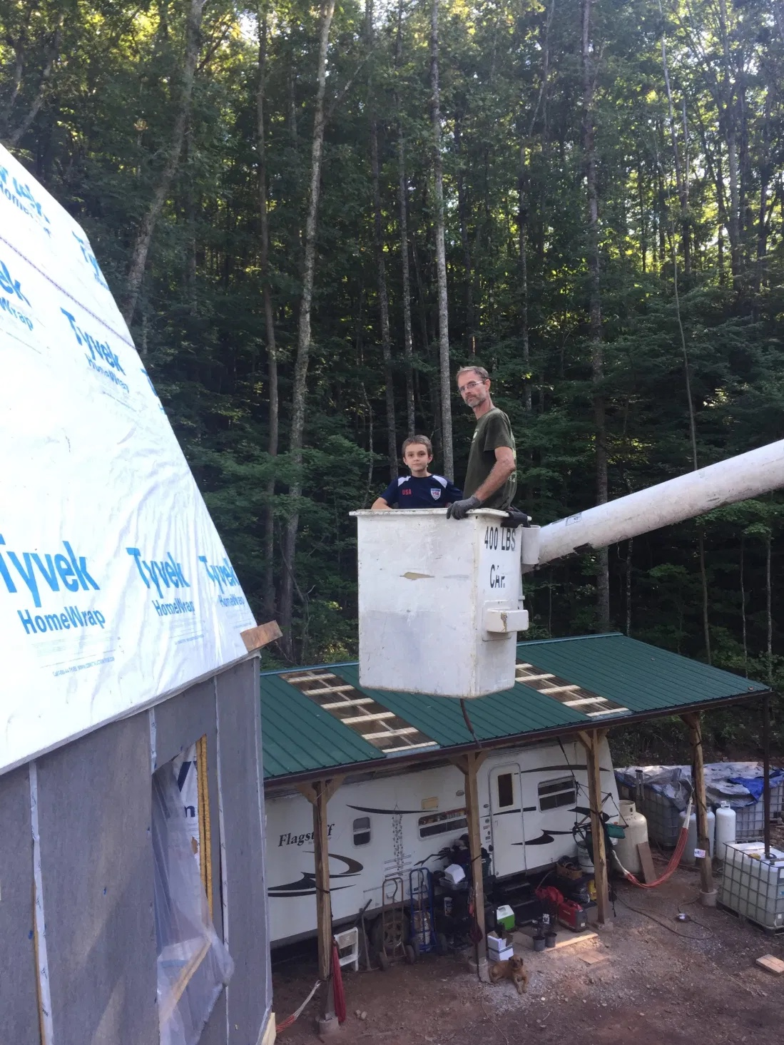 Making super insulated roof